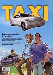 Taxi gangstars - 4ème de couverture - Format classique