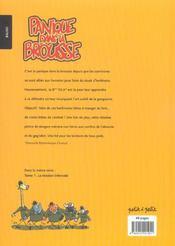 La Patrouille Des Elephants T.2 ; Panique Dans La Brousse - 4ème de couverture - Format classique
