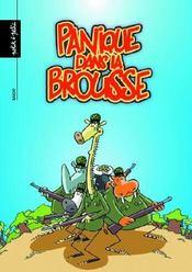 La Patrouille Des Elephants T.2 ; Panique Dans La Brousse - Couverture - Format classique