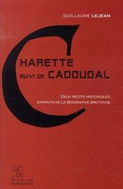 Charette ; Cadoudal - Intérieur - Format classique