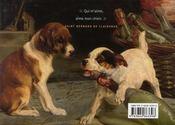 Les chiens ; dans l'art, la photographie et la littérature - 4ème de couverture - Format classique