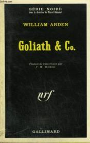 Goliath Et Co. Collection : Serie Noire N° 1458 - Couverture - Format classique