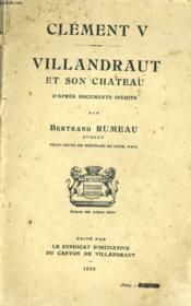 Clement V - Villandraut Et Son Chateau D'Apres Documents Inedits - Couverture - Format classique