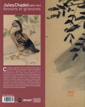 Jules Chadel (1870-1941) ; nature et mouvements - 4ème de couverture - Format classique