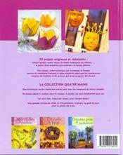 Creations En Bandes Platrees - 4ème de couverture - Format classique
