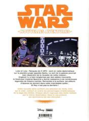 Star Wars - nouvelles aventures T.3 - 4ème de couverture - Format classique