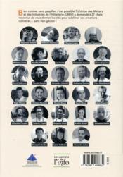 Les chefs s'engagent ; leurs recettes anti-gaspi légumes et légumineuses - 4ème de couverture - Format classique