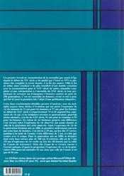 Données statistiques N° 4-2001 : tables de mortalité françaises pour le XIXe et XXe siècles et projections pour le XXIe siècle - 4ème de couverture - Format classique