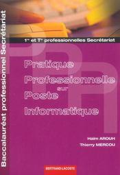 Ppi Bac Professionnel Secretaires 1 Et 2 Ed. 2009 - Intérieur - Format classique