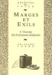 Marges Et Exils - Intérieur - Format classique