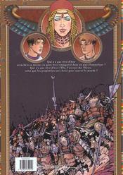 Khatedra T.2 ; Sans Retour - 4ème de couverture - Format classique