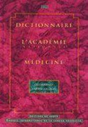 Dictionnaire de l'academie nationale de medecine : otorhino-laryngologie - Intérieur - Format classique