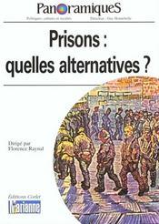 REVUE PANORAMIQUES N.45 ; prisons : quelles alternatives ? - Intérieur - Format classique