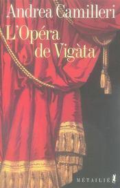 L'opèra de Vigàta - Intérieur - Format classique