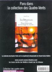 REVUE L'AVANT-SCENE THEATRE N.1153 ; la quatrième soeur - 4ème de couverture - Format classique