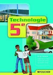 Technologie ; 5ème - Couverture - Format classique