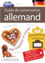 telecharger Guide de conversation allemand livre PDF en ligne gratuit