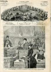 L'UNIVERS ILLUSTRE - VINGT-HUITIEME ANNEE N° 1580 Paris - Couverture - Format classique