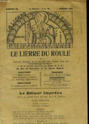 Le Lierre Du Roule - Couverture - Format classique