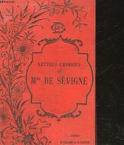 Lettres Choisies De Sevigne - Couverture - Format classique