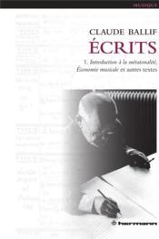 Ecrits, vol. 1 - Couverture - Format classique