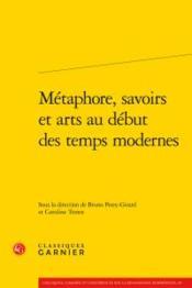 Métaphore, savoirs et arts au début des temps modernes - Couverture - Format classique