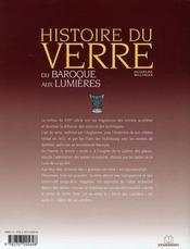 Du baroque aux lumières - 4ème de couverture - Format classique