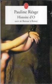 Histoire d'O ; retour à Roissy - Couverture - Format classique
