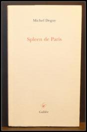 Spleen De Paris - Couverture - Format classique