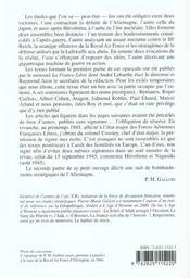 Ecrits De Guerre - 4ème de couverture - Format classique