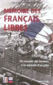Mémoire des français libres - Intérieur - Format classique