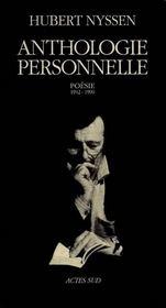 Anthologie Personnelle - Intérieur - Format classique