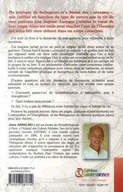 Le corps conscient ; l'homme debout ou l'ostéopathie accomplie - 4ème de couverture - Format classique