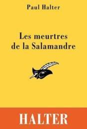 Les meurtres de la Salamandre - Couverture - Format classique
