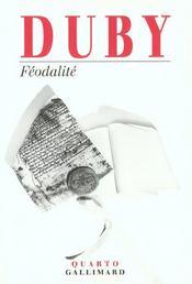 Féodalité - Intérieur - Format classique