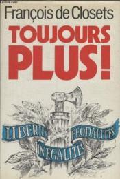 Toujours Plus. - Couverture - Format classique