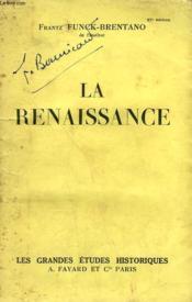 La Renaissance. - Couverture - Format classique
