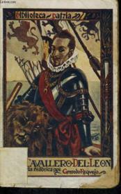 El Caballero Del Leon - Couverture - Format classique