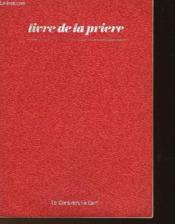 Livre De La Priere - Couverture - Format classique