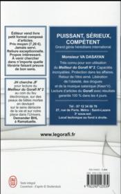 Le meilleur du Gorafi t.2 ; toute information selon des sources contradictoires - 4ème de couverture - Format classique