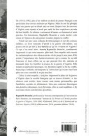Papa, qu'as-tu fait en Algérie ? - 4ème de couverture - Format classique