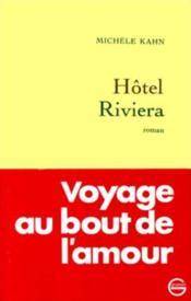 Hotel riviera - Couverture - Format classique