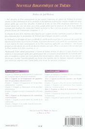 L'apport du tribunal de premiere instance des c.e. au droit commun. de la concurrence. volume 42 - n - 4ème de couverture - Format classique