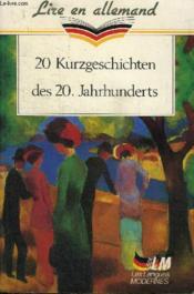 20 kurzgeschichten des 20 jahrhunderts - Couverture - Format classique
