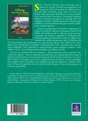 L'elevage sous l'ancien regime - 4ème de couverture - Format classique
