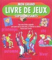 Mon Grand Livre De Jeux Superamusants - Intérieur - Format classique