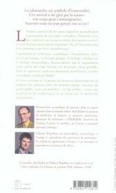 Le secret de la salamandre la medecine en quete d'immortalite - 4ème de couverture - Format classique