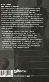 Madame Est Serbie - 4ème de couverture - Format classique