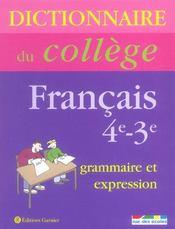 Grammaire Et Expression - Intérieur - Format classique