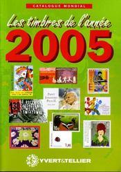 Catalogue mondial des timbres de l'année 2005 - Intérieur - Format classique